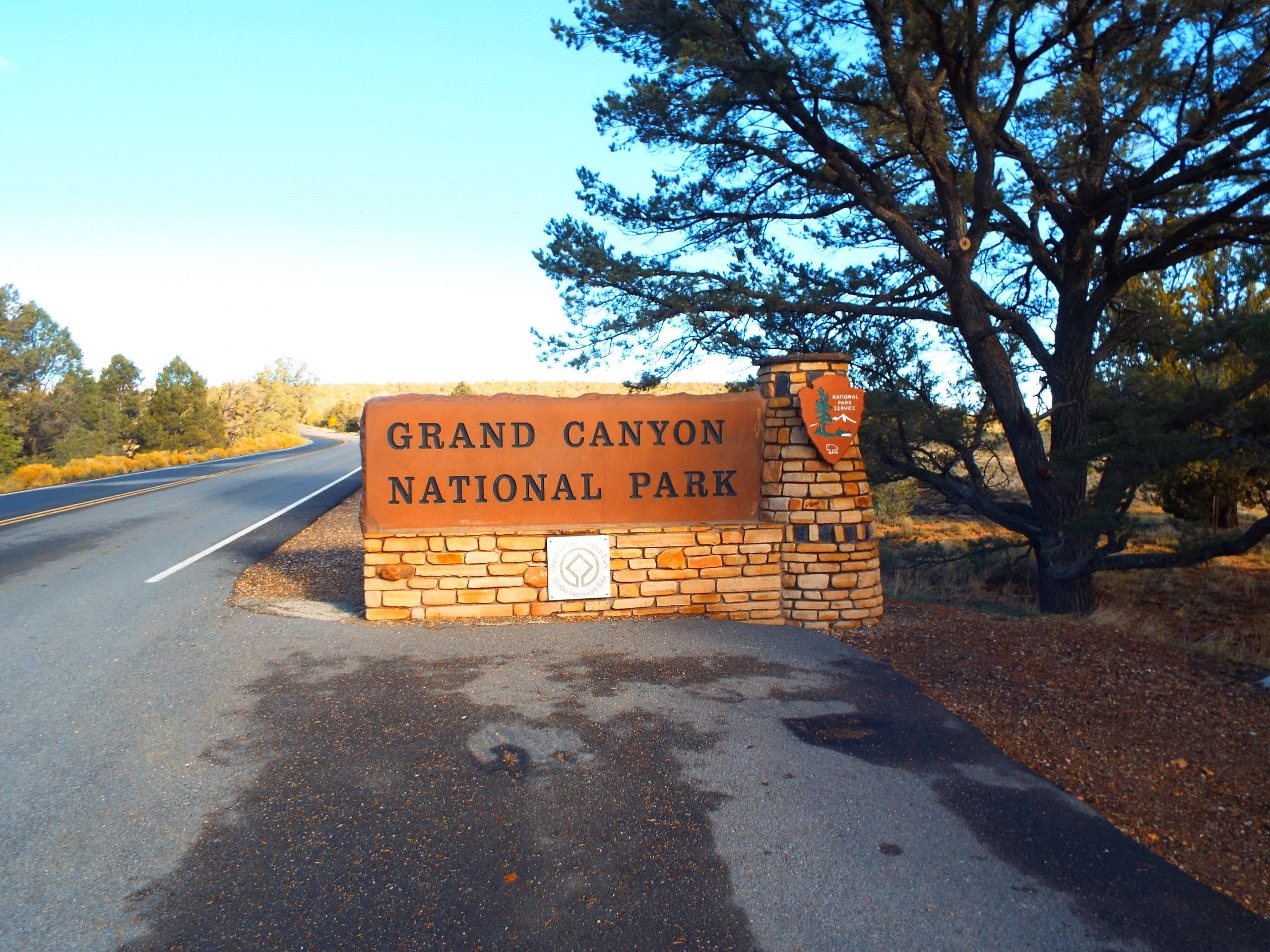 Entrée Grand Canyon