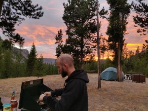 Camping dans le Yellowstone
